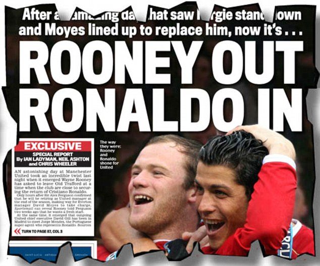 Read all about it: Sportsmail's back page from Thursday, May 9