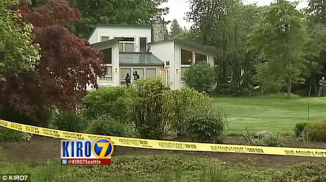 The intruder apparently was the same man who robbed the woman in the North Bend home Sunday - just 12 hours earlier