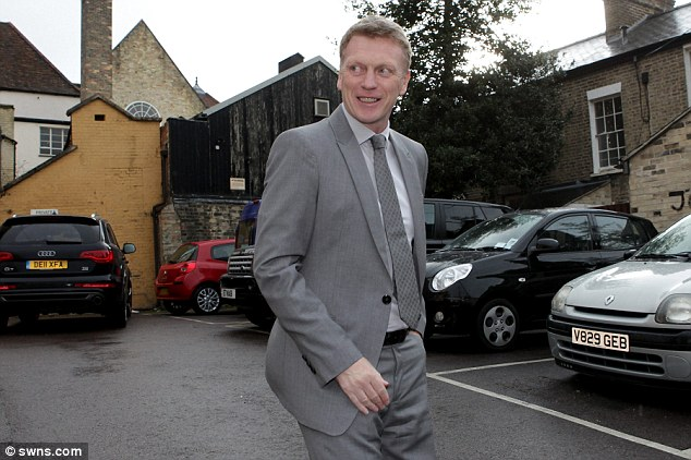 Wise words: Moyes spoke about his move to Manchester United, Wayne Rooney, diving and a lot more