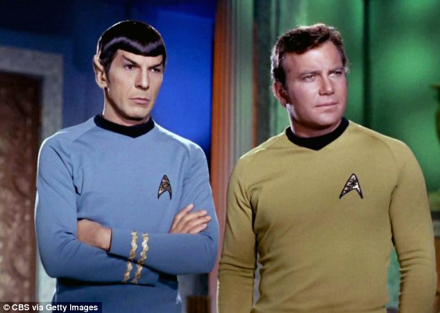 At times Hellyer's pronouncements got a little too close to Star Trek as he talked about a 'federation' of aliens that has a rule not to interfere in our affairs