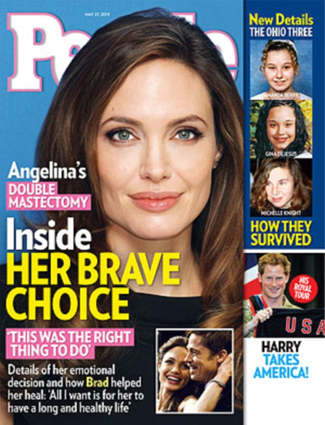 Next step: Angelina Jolie is now planning to have her ovaries removed, it has been reported
