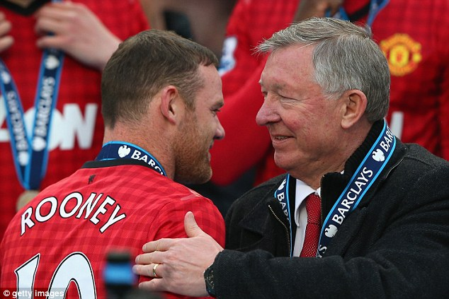 A parting of the ways: Rooney was left out of Manchester United's squad to face Swansea