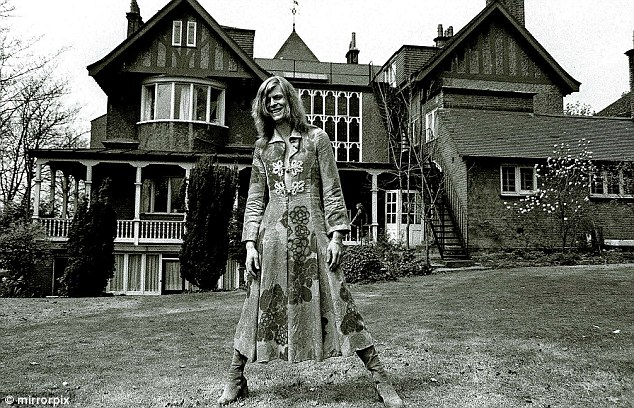 Hunky Dory Hall: David Bowie in 1971 outside the Beckenham home where he started work on his seminal album