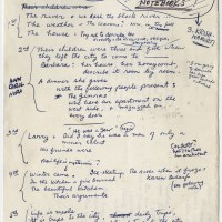 Don't Lose the Plot: Notes, diagrams and tables show how famous authors including J.K. Rowling and Sylvia Plath battled to plan out their novels beforehand