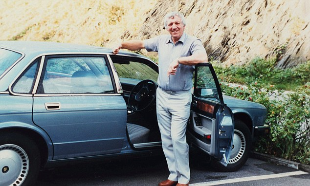 His and hers: Mr Moore often bought a car for himself and another for his wife