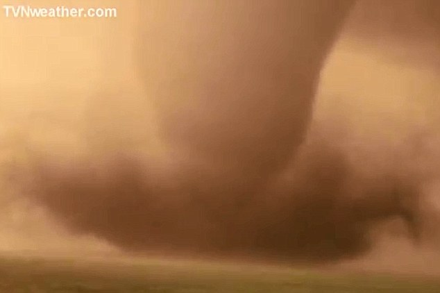 Wild: The tornado was ripping across the plains of Kansas