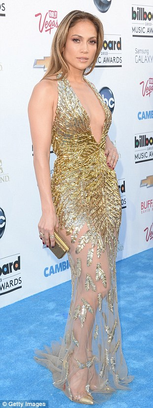 All that glitters: Jennifer Lopez, Taylor Swift and Kelly Rowland raised the fashion stakes in glittering gowns at the 2013 Billboard Music Awards in Las Vegas, Nevada on Sunday