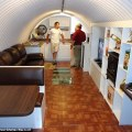 The boom in luxury underground bomb shelters which can have room for