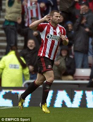 Fined: Sunderland's Phil Bardsley