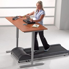 Exercise Desk Chair Seagrass Wingback Treadmill: Sedentary Lives Make Us Ill. Copy Google Microsoft Hyatt And Invest In Walking ...