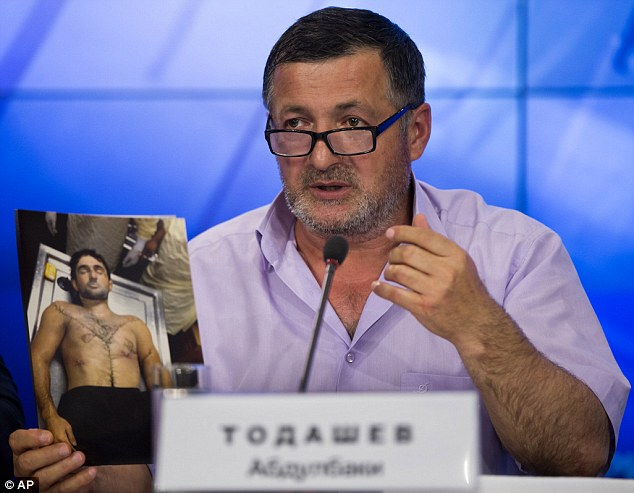 Anger: Abdulbaki Todashev says his unarmed son was shot up to seven times including once to back of the head