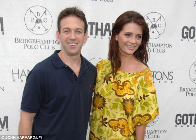 Selling: Real estate developer Andrew Borrok, with Mischa Barton, bought the home for $3.6 million in 2003
