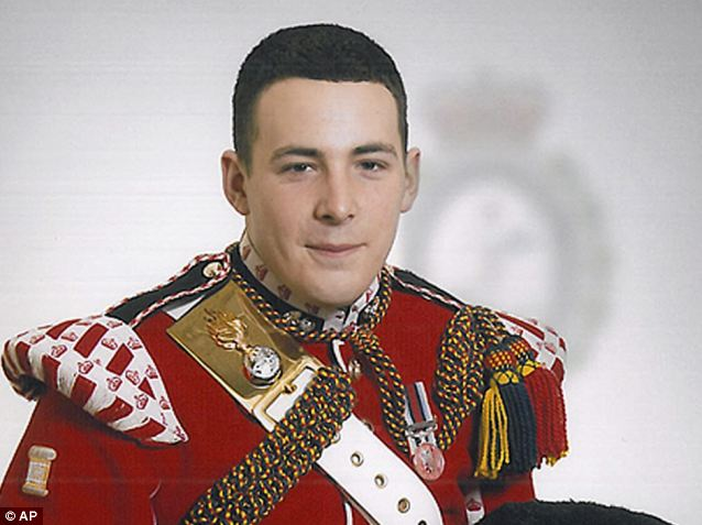 Killed: Drummer Lee Rigby died when he was attacked in a street in Woolwich, London, last month