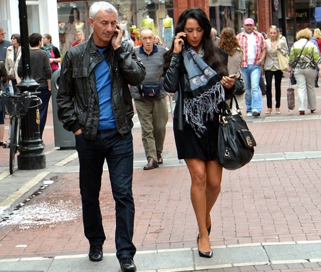 Allegation Ian Rush And Carol Anthony Pictured Together In Dublin Earlier This Month And