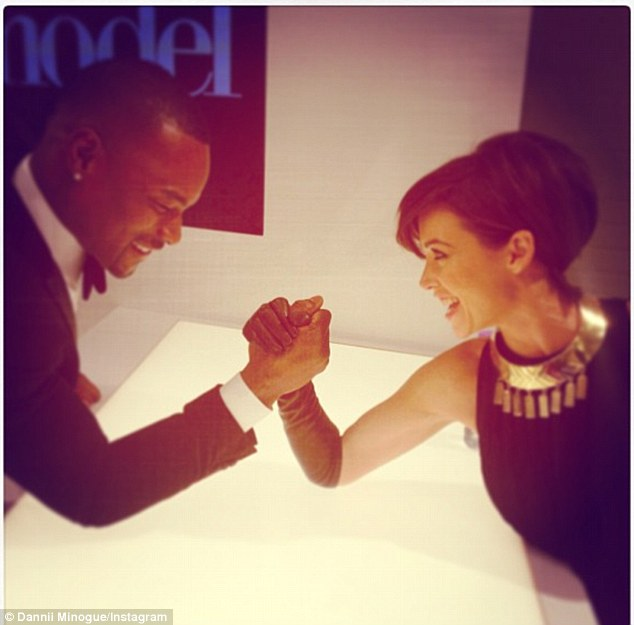 'Growing closer by the day': The pair are said to be forming a great friendship on the set of BINTM