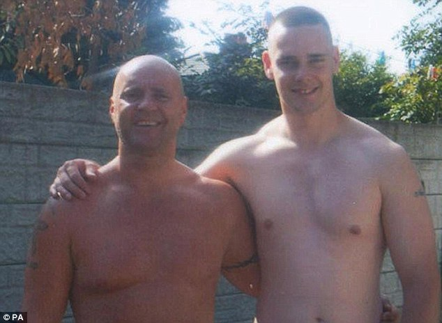 Victims: Cregan first murdered Mark Short at a birthday party in May and then killed his father David Short (left) three months later