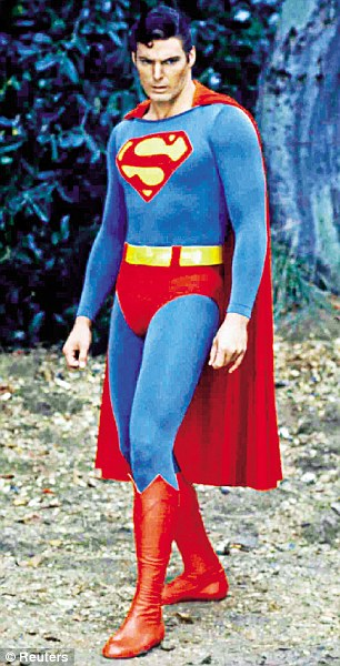 Christopher Reeve in the 1978 incarnation of Superman