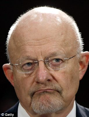 Not good: Director of National Intelligence James Clapper warned that the leak of top secret documents proving government oversight over personal records could cause serious national security issues