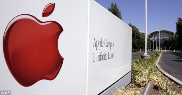 Computer giant: Apple also said that it had never heard of the PRISM program until now but reports say it has worked contributed to discussions with the government concerning sharing information