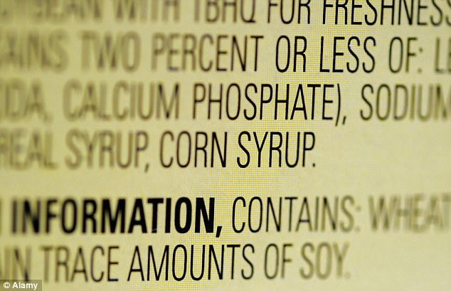 The process: The USDA says that processed foods are the main source sugar in our diets - but that many food producers are reluctant to reveal just how much high fructose corn syrup their products contain