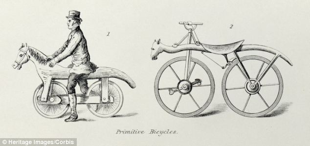 The hobby horse-style bike that has no pedals or saddle