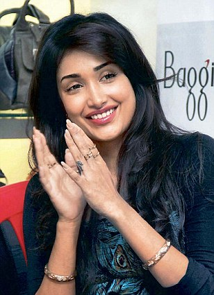 Talented: Bollywood actress Jiah Khan allegedly committed suicide by hanging herself at her residence in Juhu in Mumbai