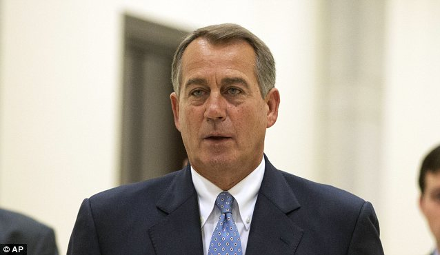 Republican House Speaker John Boehner called Edward Snowden a 'traitor' and expressed support for Obama's intelligence program. A majority of GOP voters disagree