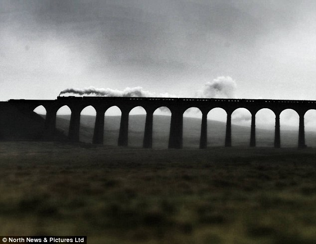 It is one of the most scenic railway routes in Britain, the Settle to Carlisle line