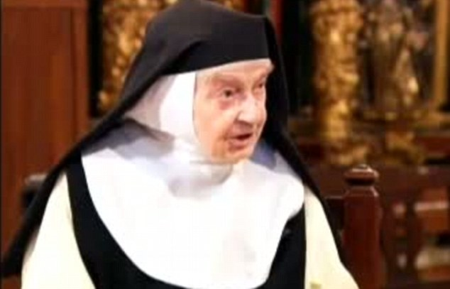 Sister Teresita said she never intended to be a nun but entered the monastery because of family pressure