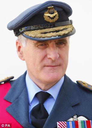 Former head of the armed forces Lord Stirrup was cleared by the standards commissioner