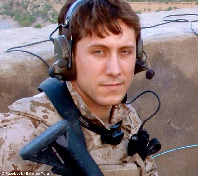 Killed in action: Michael Strange, 25, died when his helicopter went down in Afghanistan in 2011
