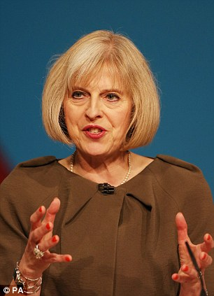 Home Secretary Theresa May is being tipped as Britain's answer to Angela Merkel