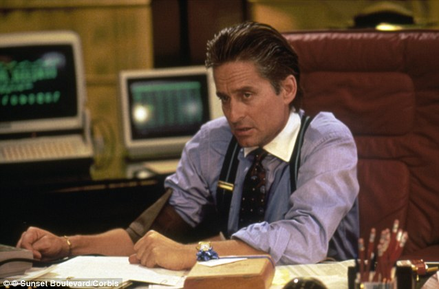 Greed is good: Gordon Gekko's mantra rings true for a lot of top executives in the business world