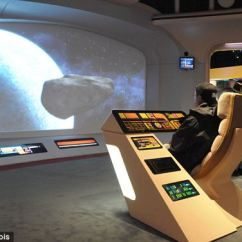 Gaming Chair Companies Barcelona Replica Star Trek Meets The Home Office In 'ultimate Computer Workstation' Which Will Set You Back £ ...