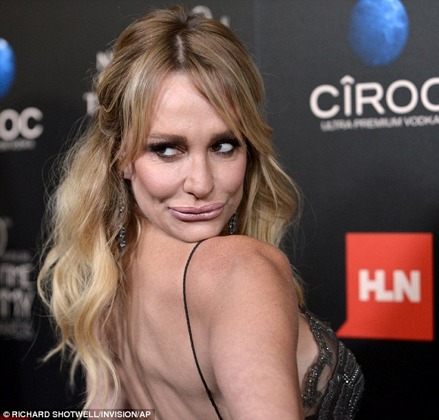 Image result for taylor armstrong over shoulder