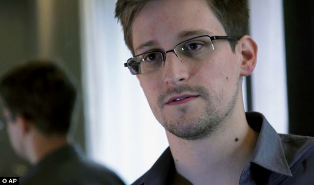 Speaking out: Edward Snowden is taking part in a live web chat, where he is defending leaking information