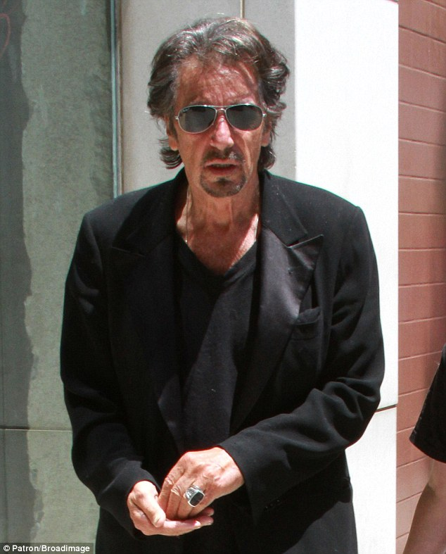 Enjoying The Summer Break Al Pacino Dons Tuxedo Jacket As He Takes His Son Anton James Shopping Bootpretty Alfredo james al pacino born april 25, 1940) is an american film and stage actor and director. bootpretty wordpress com