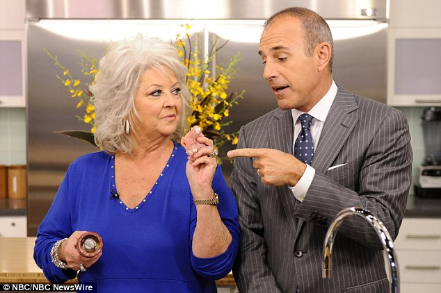 Previous appearance: Paula Deen was to appear on the Today show this morning to answer questions from Matt Lauer about her past use of racial slurs - but she pulled out just before the show started