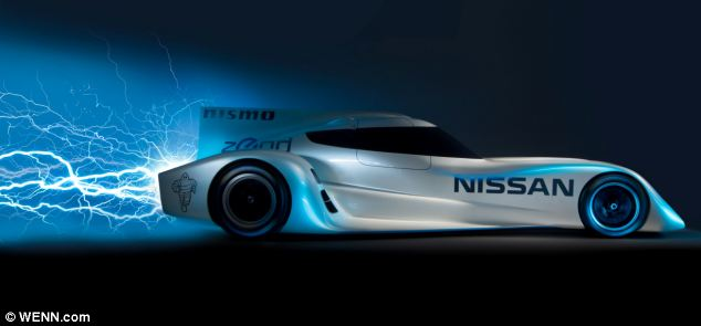 Nissan has unveiled the world's fastest electric racing car - the Zero Emission On Demand Racing Car RC.