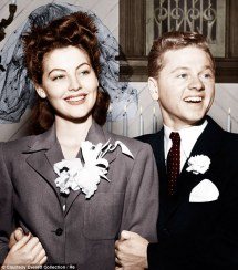 Image result for ava gardner and mickey rooney