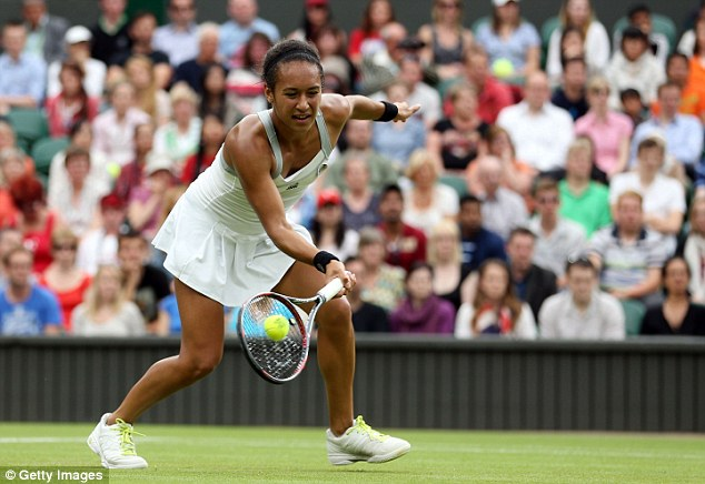 Shunned: Heather Watson claims the big guns ignore her off court