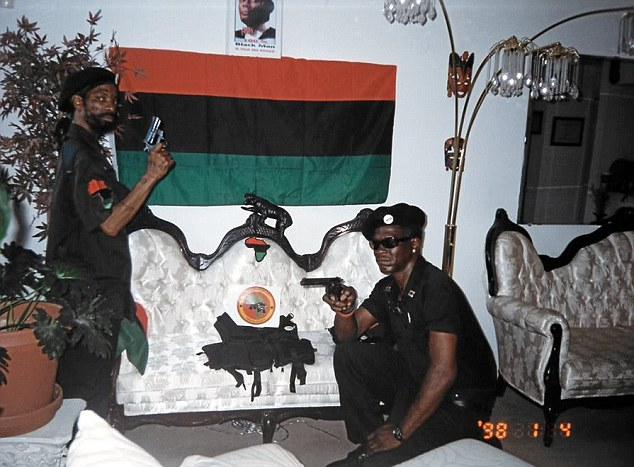 At his arraignment Heath's (pictured left) lawyer told the court that the New Black Panther party is not a violent group, but instead is a vehicle for community service