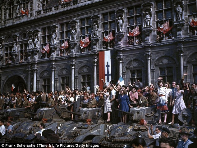 Life after the French capital was liberated in August 1944