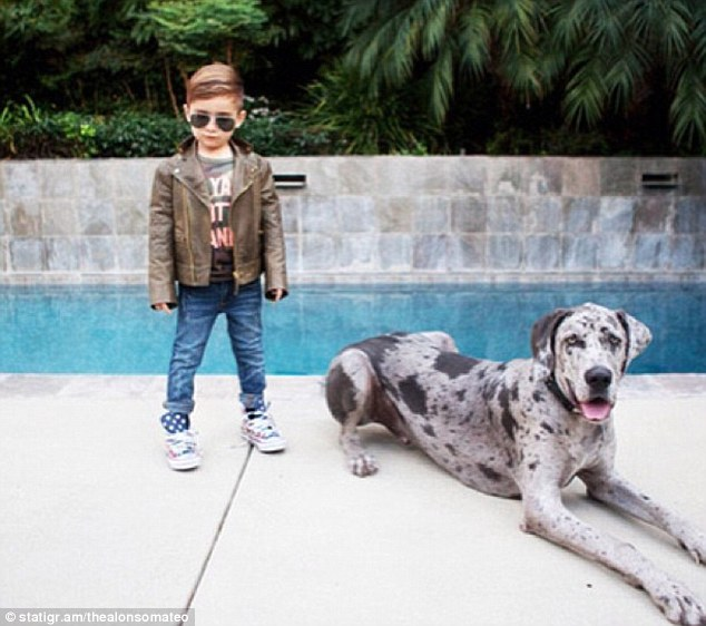 Alonso Mateo has become an internet style icon after posting photos of his high fashion looks on Instagram
