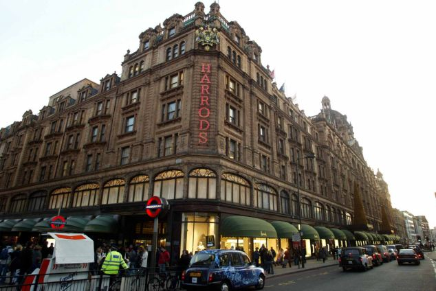 British icon: Harrods department store, pictured, in London's Knightsbridge is one of a number of high-profile acquisitions by the $100bn Qatari sovereign wealth fund
