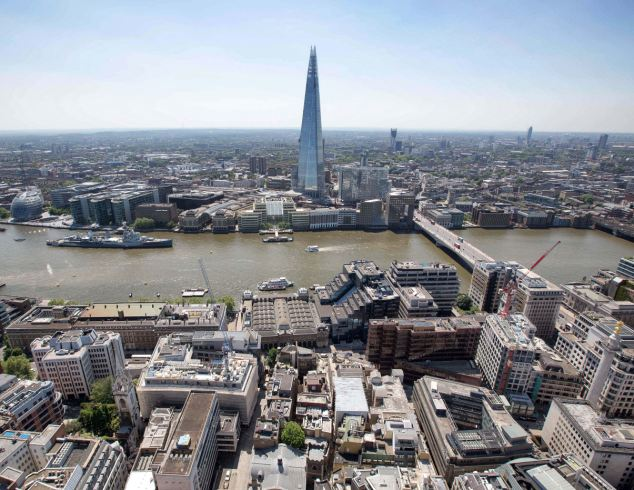 Landmark: The Qatari sovereign wealth fund helped finance The Shard, a 72-storey skyscraper in London which is Europe's tallest building