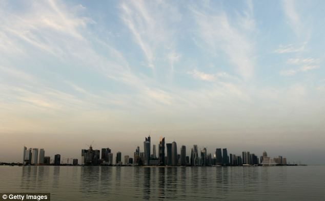 Rising from the sands: Huge natural resources has transformed Doha, the capital of tiny Gulf state Qatar, into a glittering metropolis of skyscrapers in just a few years