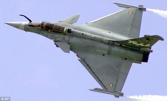 French aviation firm Dassault, makers of the Rafale fighter (pictured) are in talks with the Indian government over a $12 billion deal
