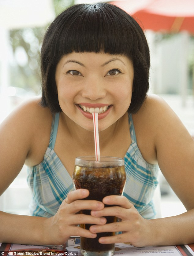 Sugar hit: A 31-year-old woman in Monaco was found to have an irregular heartbeat and low potassium - and later admitted to doctors that she had only drank cola for 16 years (stock image)