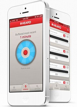 New app Heard for iPhone